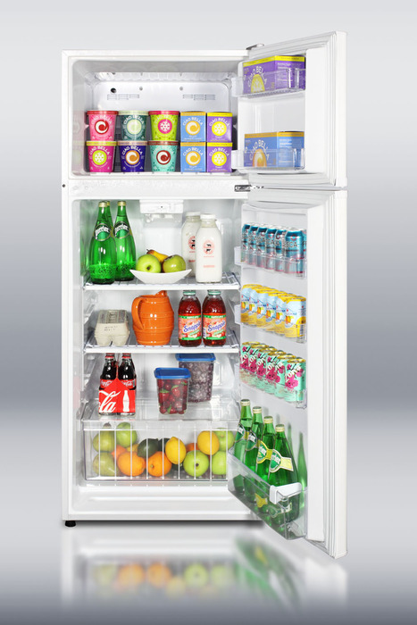 Do you all have big fridges? Are they always full of food ...